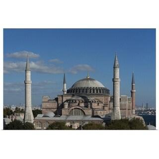 """Hagia Sophia"" Poster Print"