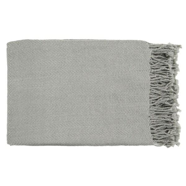 "50"" x 60"" Sweet Indulgence Gray Throw Blanket"