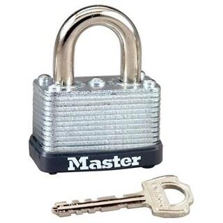 Master Lock 234973 1.5 in. 38 mm Tru-Guard Wide Warded Steel Padlock