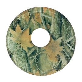 Replacement Waterfall Faucet Glass Disc Plate Forest Fall