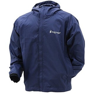 Frogg Toggs Mens Stormwatch Jacket, Navy, L