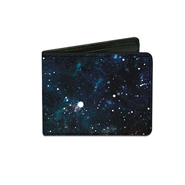 Buckle Down Kids' Galaxy Pattern Billfold Wallet