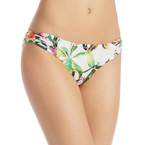 Trina Turk Womens Miami Foral Hipster Bikini Swim Bottom - Multi