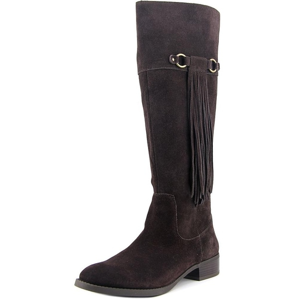 INC International Concepts Fayer Women Round Toe Suede Knee High Boot