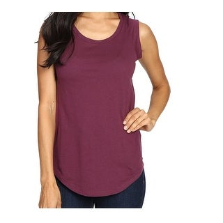 Alternative Apparel NEW Purple Womens Size XS Satin Jersey Tee T-Shirt