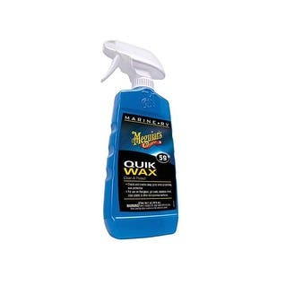 Meguiar's M5916 Marine/Rv Quik Wax Clean And Protect, 16 Oz