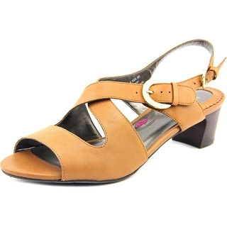 Ros Hommerson Patsy Women SS Open Toe Leather Brown Sandals