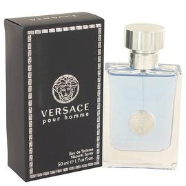 Versace Pour Homme by Versace Eau De Toilette Spray 1.7 oz - Men