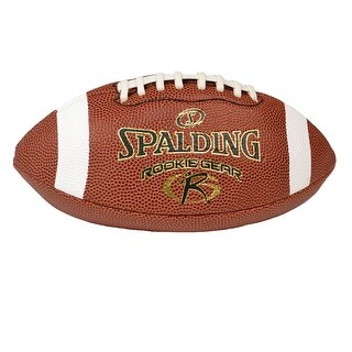 Spalding Deflated PeeWee Rookie Gear Composite Football