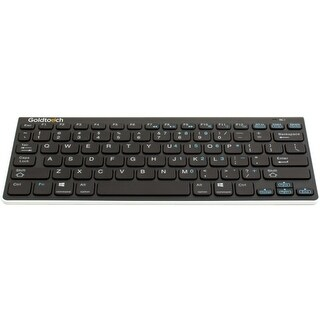 Goldtouch GTA-0033 Goldtouch Bluetooth Mini Keyboard - Wireless Connectivity - Bluetooth - Compatible with Computer, Tablet,