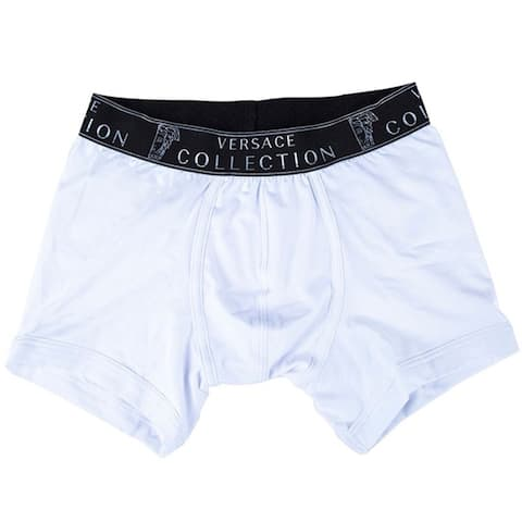 VERSACE COLLECTION Mens White Boxer Breif VIOP12