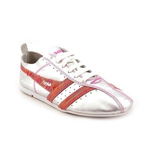 Gola Galaxy Women Round Toe Leather Sneakers