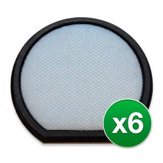Replacement Vacuum Filter for Hoover CH53010 Vacuum Model (6-Pack) - Anti Allergen Type