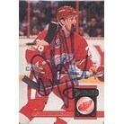 Dallas Drake Detroit Red Wings 1994 Donruss Autographed Card This item comes with a certificate of authenticity from