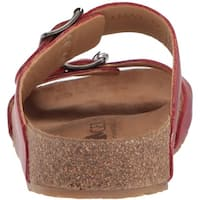 Haflinger Womens andrea 2 Open Toe Casual Slide Sandals