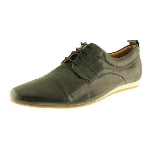 Zara Mens Leather Toe Cap Oxfords