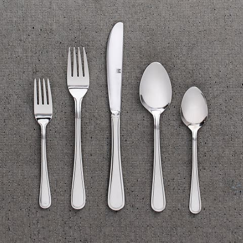 "Flatware Stainless Steel 40PC Set Kelby - 9"" x 0'5"""