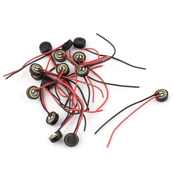Fabulous Shop 15 Pcs 4 5Mm X 2Mm Wire Cable Mic Capsule Electret Condenser Wiring 101 Capemaxxcnl