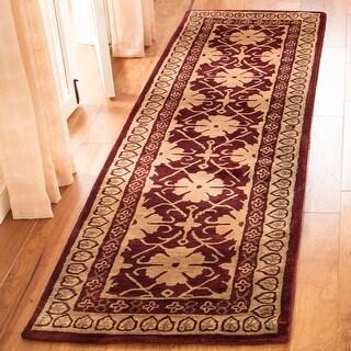 Safavieh Handmade Classic Velva Traditional Oriental Wool Rug