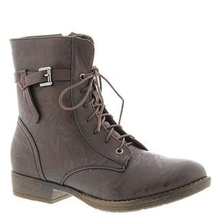 Patrizia Fortress Brown Woman Tie Boot
