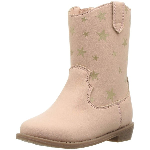 88eb321df9b Shop Carter's Kids Girl's Fay2 Pink Western Boot - Free Shipping On ...