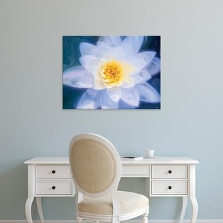 Easy Art Prints Lola Henry's 'Painterly Flower III' Premium Canvas Art