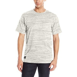LRG Men's All Natural Short Sleeve Knit - Charcoal Heather
