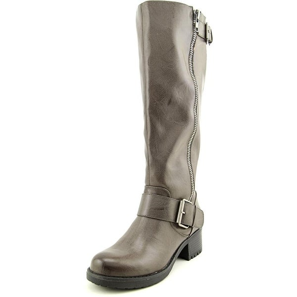 Mia Peterson Women Gray Boots