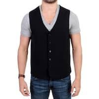Costume National Costume National Black wool blend casual vest