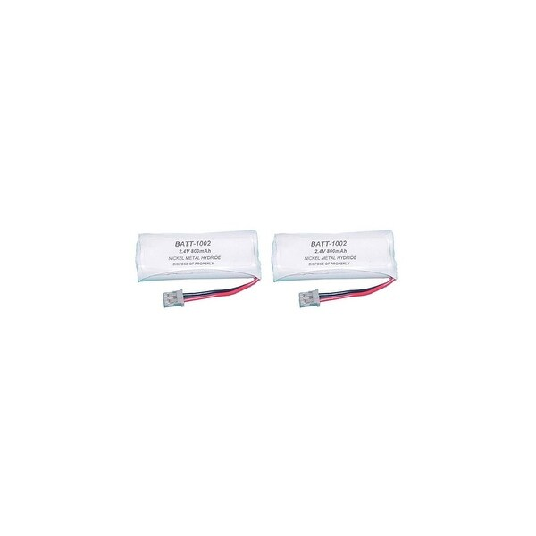 Battery for Uniden BT-1002 (2-Pack) Replacement Battery for Dect 6.0 1000 Series & DCX100