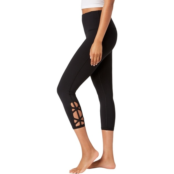 47f8d4ee85 Shop Gaiam Womens Athletic Leggings Yoga Fitness - M - Free Shipping On  Orders Over $45 - Overstock - 26893759