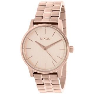 Nixon Women's Kensington A361897 Rose-Gold Stainless-Steel Quartz Fashion Watch