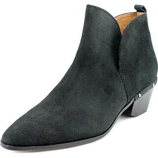 Nina Wish Women Round Toe Leather Bootie