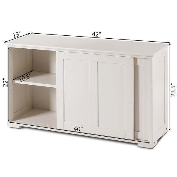 Costway Kitchen Storage Cabinet