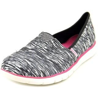 Skechers Sporty Chic 2 Round Toe Canvas Walking Shoe