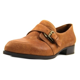 Nine West Norella Women Pointed Toe Leather Brown Loafer