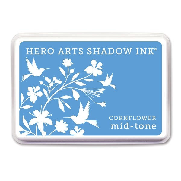 Hero Arts Midtone Shadow Ink Pad-Cornflower - Blue