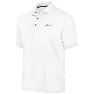 Greg Norman NEW White Mens Size XLT Moisture Wicking UPF 15 Polo Shirt
