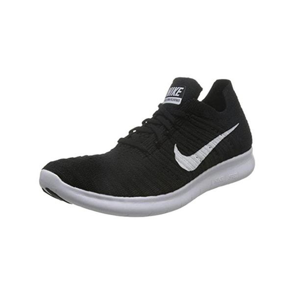 Nike Womens Free RN Flyknit Running Shoes Lightweight Performance
