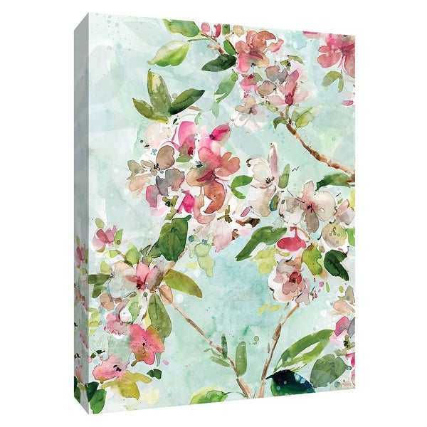 """PTM Images 9-148621 PTM Canvas Collection 10"""" x 8"""" - """"Spring Blossoms II"""" Giclee Flowers Art Print on Canvas"""