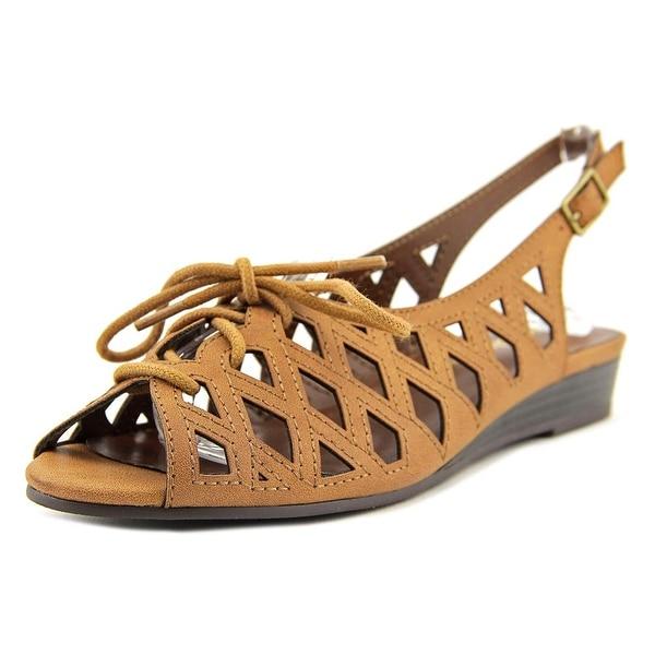 Easy Street Tinker Women W Open-Toe Synthetic Slingback Sandal