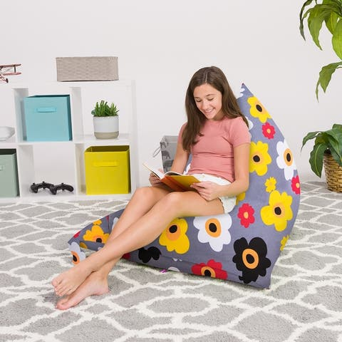 Bean Bag Chair for Kids, Teens and Adults -Twist Chair for Bedroom