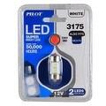 Pilot Automotive Super Bright LED Dome Light Bulb (2 LEDS Per Bulb) - Thumbnail 1