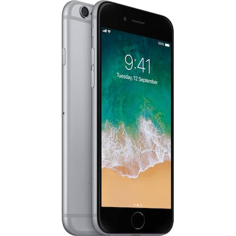 """Apple iPhone 6 16GB 4.7"""" 4G LTE FullyUnlocked,Space Gray(Used-Good) - Space Gray"""