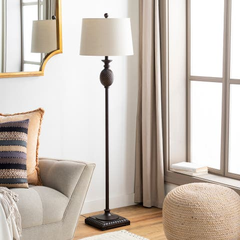 "Trumyn Traditional 59-inch Floor Lamp - 59""H x 15""W x 15""D"