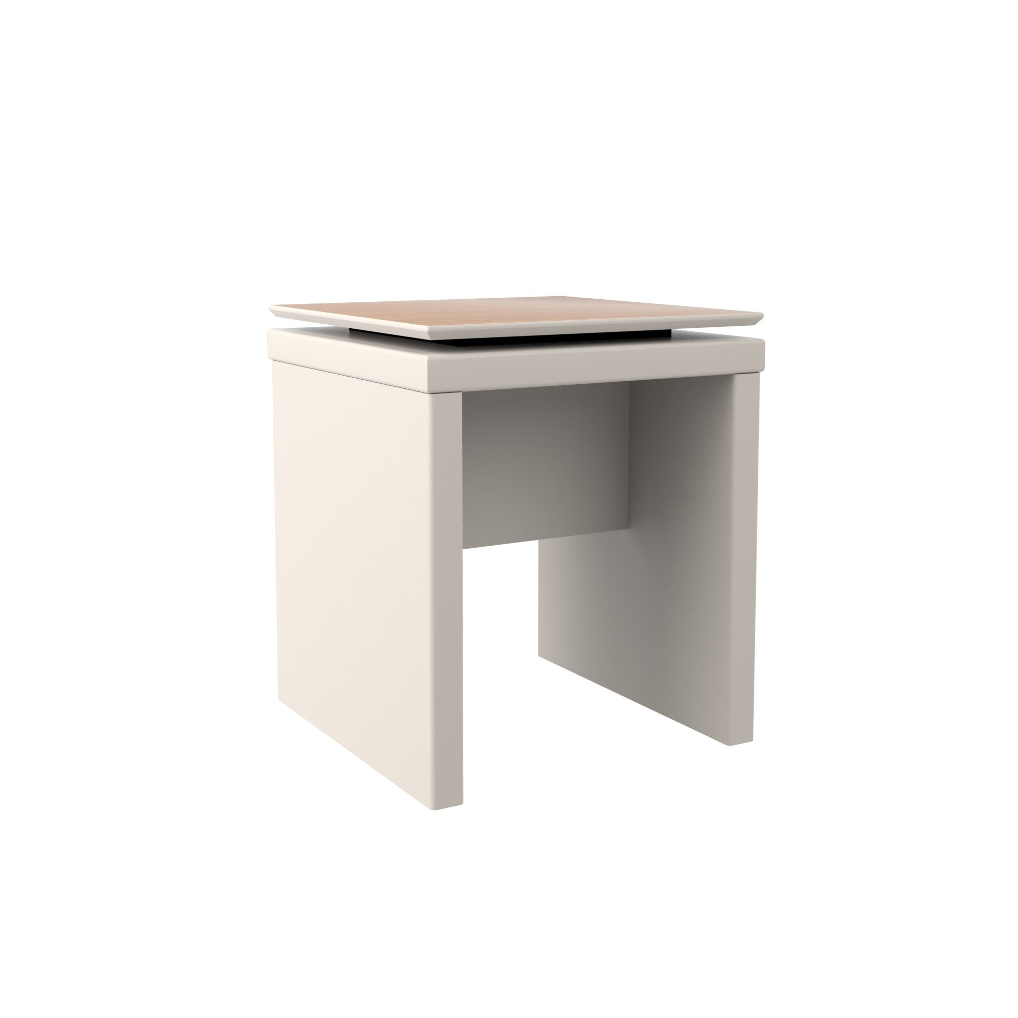 Pleasing Square End Table In Off White And Maple Cream Uwap Interior Chair Design Uwaporg