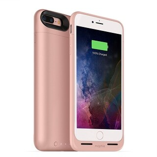 Juice Pack Air by mophie - 2,420mAh Battery Case For iPhone 7 & 8 Plus - rose gold