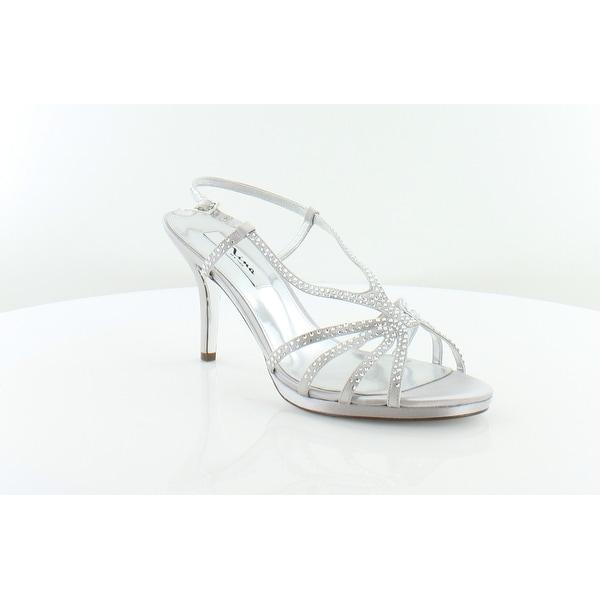 Nina Bobbie Women's Heels Silver Jolie - 10