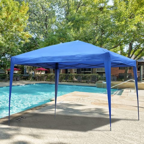 """Flat top outdoor Tent with roof without enclosure - 118.11""""x 118.11""""x 98.43"""""""