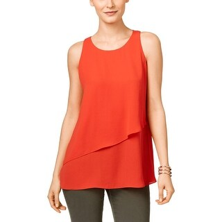 Dylan Rose Women 39 S Asymmetrical Crop Tank With Layered Over Tank Top Free Shipping On Orders